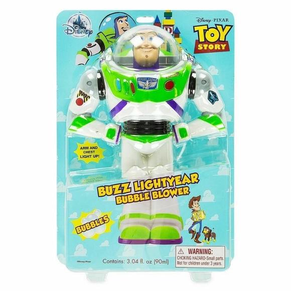 NIB Toy Story Buzz Lightyear Bubble Blower